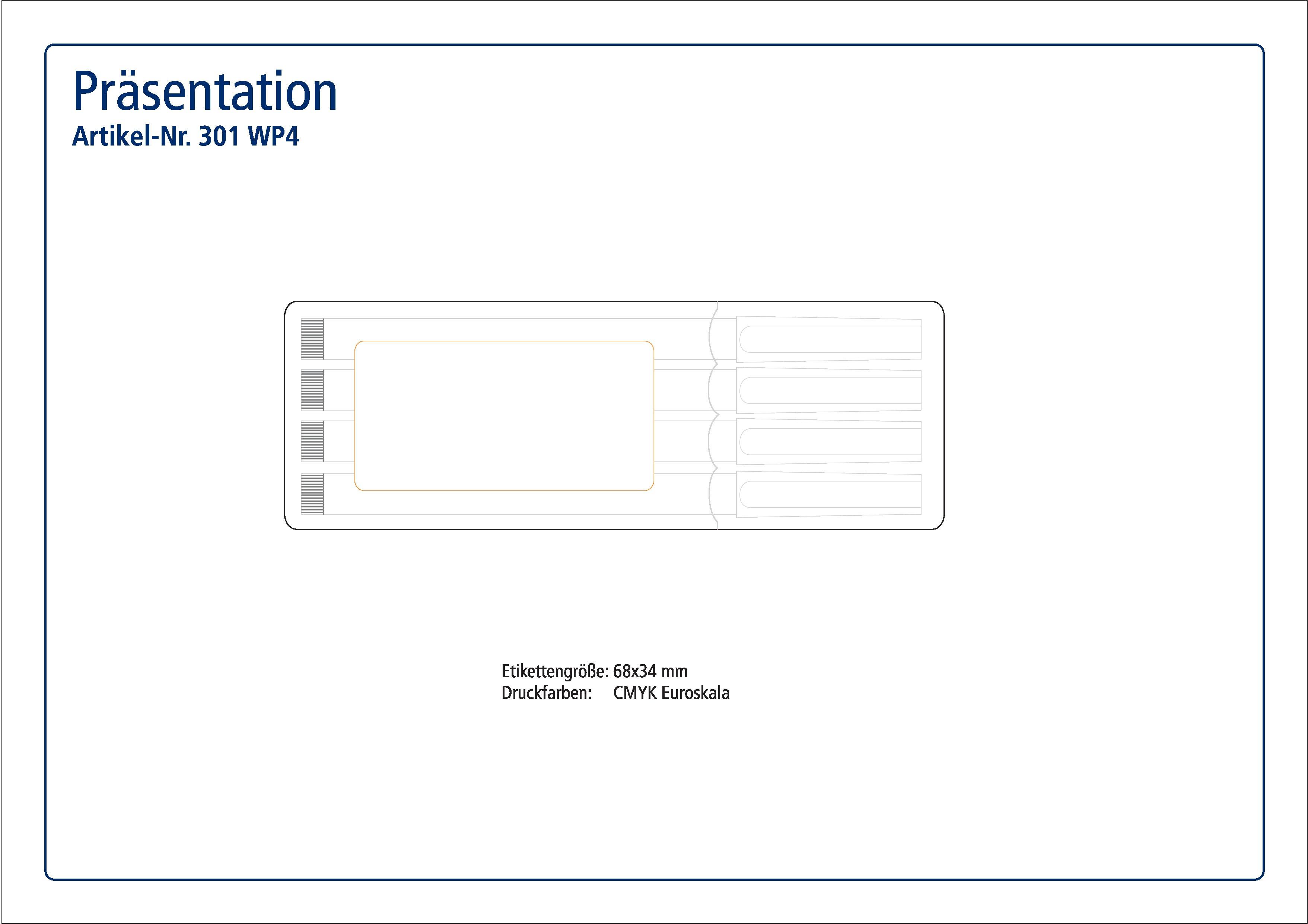 STAEDTLER Box mit 4 Lumocolor non-permanent S bedruckt als ...