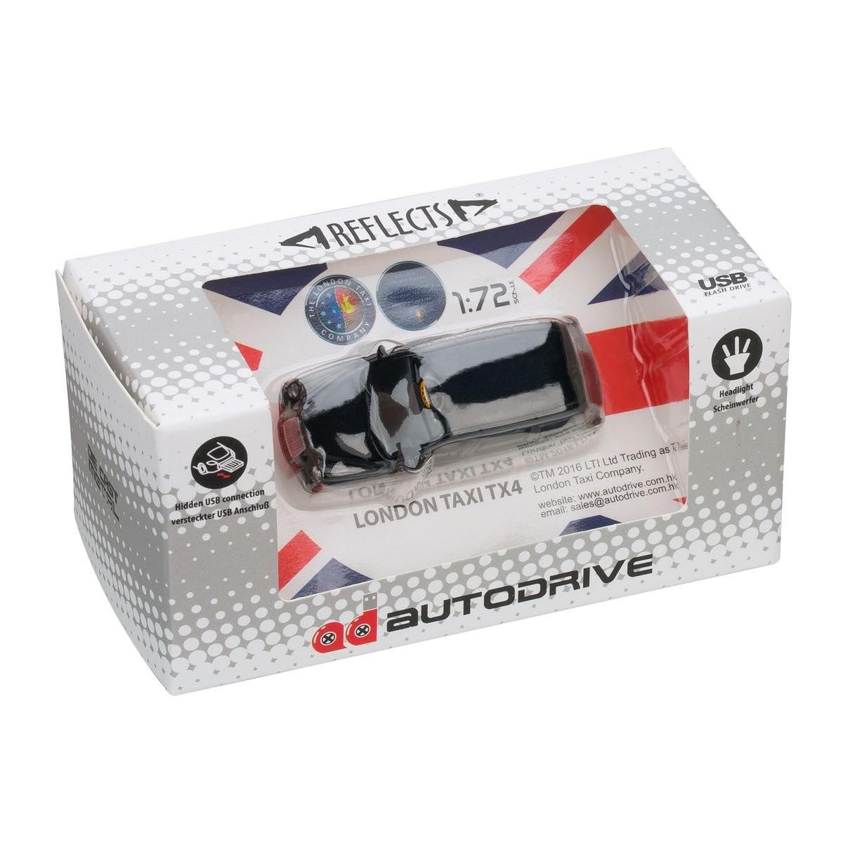 USB-Speicherstick London Taxi TX4 1:72 BLACK 16GB, Ansicht 9