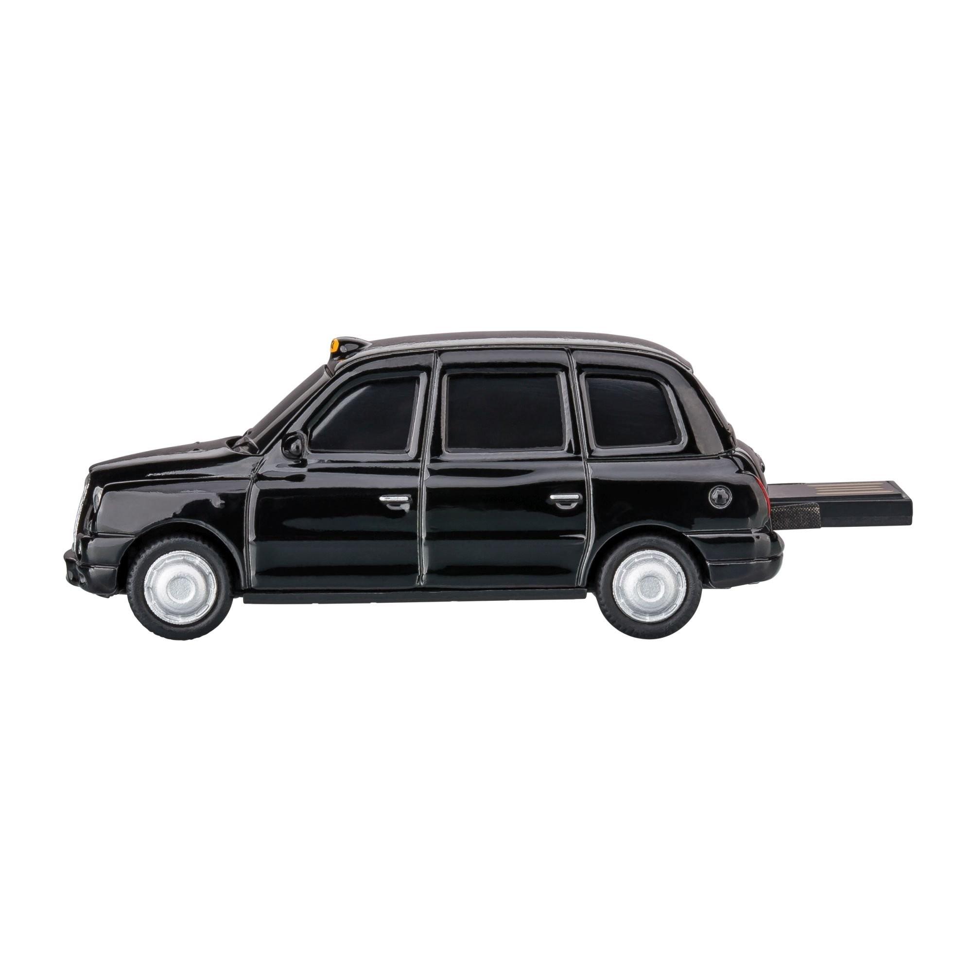 USB-Speicherstick London Taxi TX4 1:72 BLACK 16GB, Ansicht 4