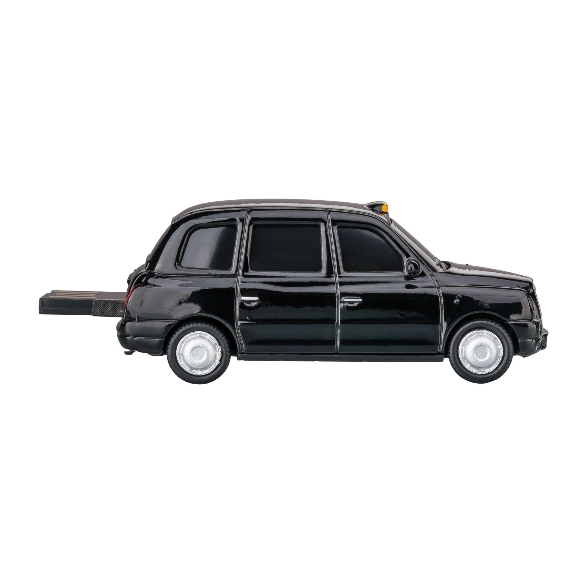 USB-Speicherstick London Taxi TX4 1:72 BLACK 16GB, Ansicht 5