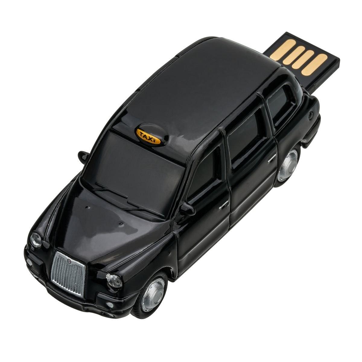 USB-Speicherstick London Taxi TX4 1:72 BLACK 16GB, Ansicht 10