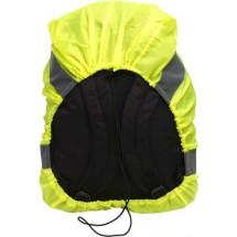 Warnweste/Regenschutz für Rucksäcke - Gelb