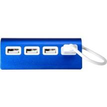 USB-Hub 'Square' - Blau