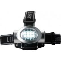 LED-Kopflampe 'Stockholm' - Silber