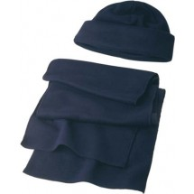 Fleece Set 'Salzburg' - Blau