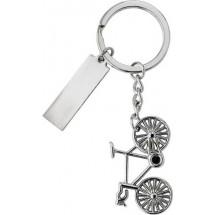 Schlüsselanhänger 'Mountain' - Silber
