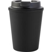 Auslaufsicherer Kaffeebecher 'Columbia' - Schwarz