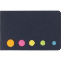 Haftnotizen 'Sticker' - Schwarz