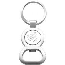 Schlüsselanhänger 'Match' - Silber