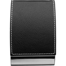 Visitenkartenhalter 'Black and White' - Schwarz/Silber