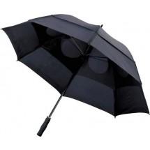 Portierschirm mit Sturmsicherung - Schwarz