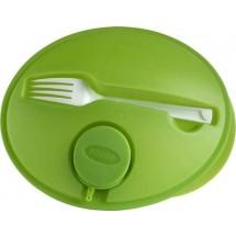 Salatbox 'Dinner' - Hellgrün