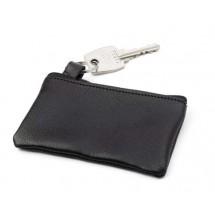 Schlüsseletui 'Comfortline' aus Leder - Schwarz