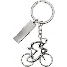 Schlüsselanhänger 'Speed' - Silber