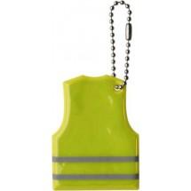 Schlüsselanhänger 'Warnweste' - Gelb