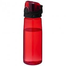 Capri Sportflasche - transparent rot