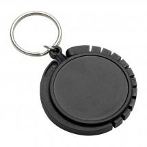 Schlüsselanhänger mit Taschenhaken REFLECTS-GRAZ BLACK