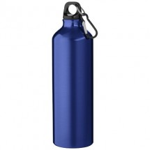 Pacific Flasche mit Karabiner - blau