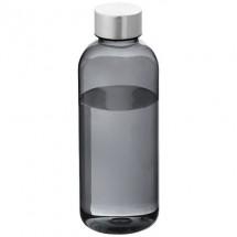 Spring Flasche - transparent schwarz / silber