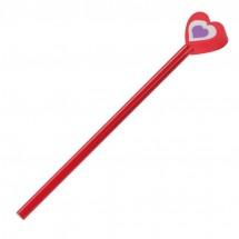 Bleistifte mit verschiedenen Köpfen - rot