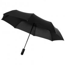 """21,5"""" Traveler Schirm mit 3 Segmenten, automatisches Öffnen und Schließen - Schwarz"""