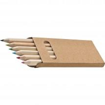Holzbuntstifte Minnie - braun