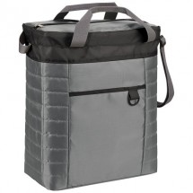 Gesteppte Event Kühltasche - schwarz