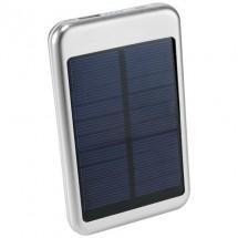 4000 mAh Bask Solar-Powerbank - silber