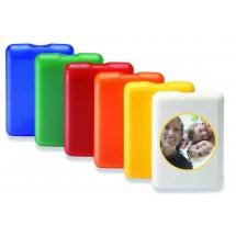VitaCard '1st-Aid' - blau transparent gefrostet