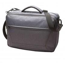 Combi bag ATTENTION - blau/grau/meliert