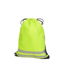 Zugbeutel REFLEX - neon gelb