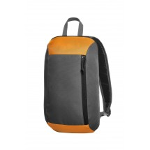 Rucksack FRESH - grau-orange