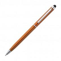 Kugelschreiber mit Touchfunktion - orange