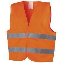 Professionelle Warnweste - orange