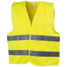 Professionelle Warnweste - gelb
