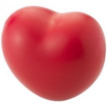 Herzförmiger Anti-Stressball - rot