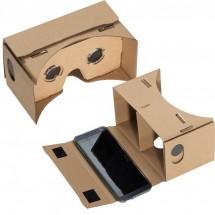 VR Brille aus Karton - braun