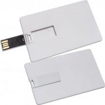 USB Karte mit 8GB Speichervolumen - weiss