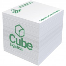 Block-Mate® 4A großer Notizblock - weiss