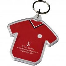 Combo Schlüsselanhänger in T-Shirt-Form - transparent klar