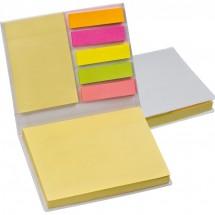Haftnotizblätter im Hardcover - weiss