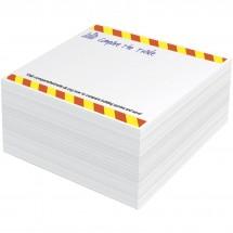 Block-Mate® 1C kleiner Notizblock - weiss