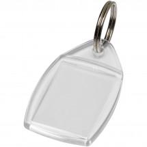 Access Kunststoff-Schlüsselanhänger - transparent klar