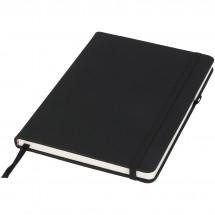 Schwarzes A5 Notizbuch - schwarz