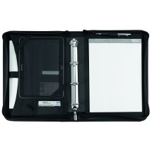 "Blackmaxx® Executive Business Portfolio ""MaxiZip4"" schwarz - schwarz"