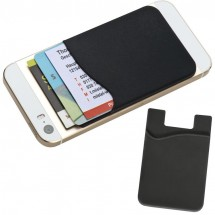 Smartphone Silikontasche - schwarz