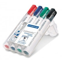 STAEDTLER Box mit 4 Lumocolor whiteboard marker