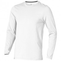 Ponoka Langarm Shirt - weiss