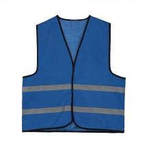 Kinder Promo Sicherheitsweste Polyester XL - kobalt