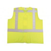RWS Sicherheitsweste Polyester XL (EN471/Klasse2) - gelb